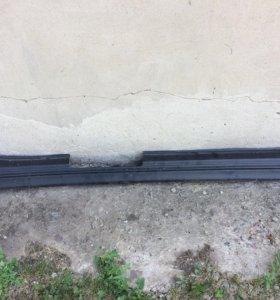 Заводская накладка на порог (правая) ваз 2110-12