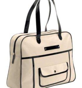 Стильная бежевая сумка Halens