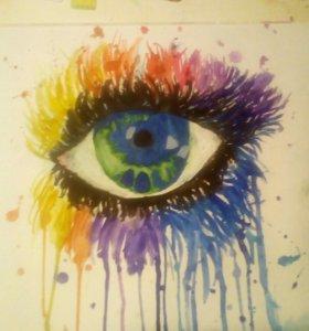 "Картина "" Глаз оптимиста"""