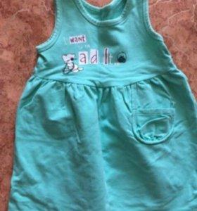 Платье (размер на 80-86)