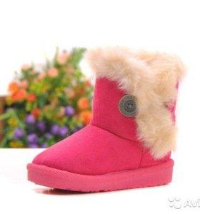 Ботиночки угги для девочки