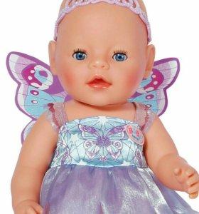 Кукла BABY BORN фея интерактивная
