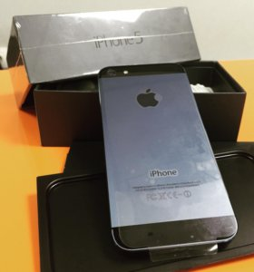 iPhone 5 Black 16Gb, Как новый!!