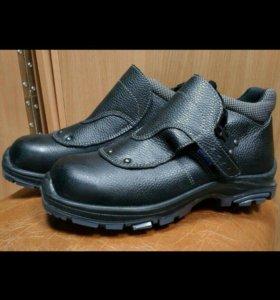 Ботинки для сварщика..строительные,спецовые. .