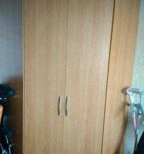 Двухдверный угловой шкаф