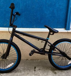 Велосипед Welt 2016 BMX Freedom Matt black/blue