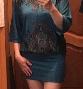 Платье  (мини)