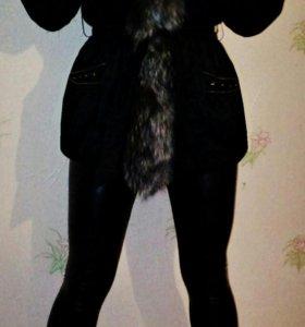 Зимняя куртка Италия. Мех натуральный