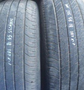 235 55 18 Dunlop 4шт