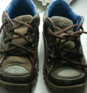 Детские ботиночки ECCO на первый шаг
