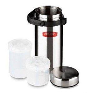 Термос для еды Арктика 1.7 литра с 2контейнерами