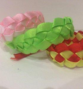 Браслеты ( фенечки ) из атласных лент на заказ