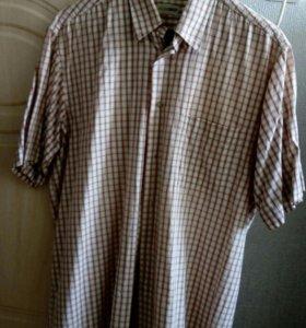 Рубашка мужская в клетку