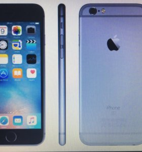 IPhone 6s space gray 32 GB