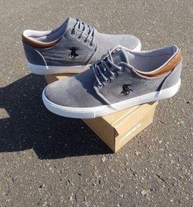 Новые мужские кроссовки Поло.