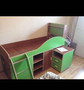 Кровать детская BAMBINI