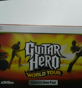 Guitar Hero World Tour Complete Band Pack