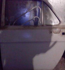 Газ 24 дверь задняя левая