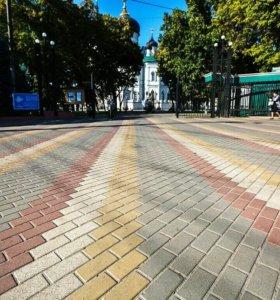 Лотки водосточные для тротуарной плитки
