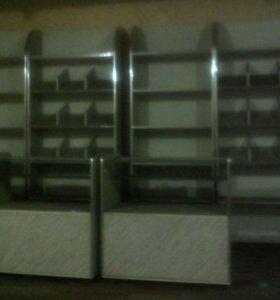Конфетные стойки шкафы