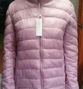 Куртка  , цвет розовая пудра ; р 46_48 ; НОВАЯ!