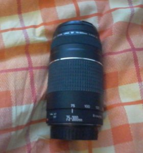 Продам объектив Canon zoom lens EF 75-300mm1:4-5.6