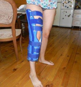 Лангет на коленный сустав