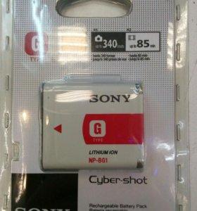 Аккумулятор для фотоаппарата SONY.