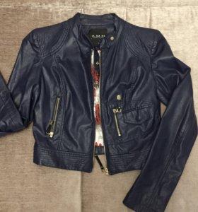 Кожаная куртка А.M.N.