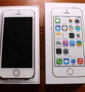Айфон 5s 16 gb silver РСТ