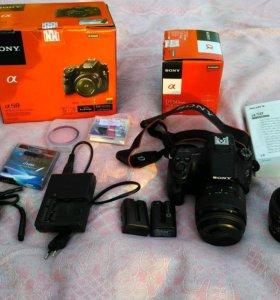 Фотоаппарат Sony SLT-A58 Kit18-55+ Sony 50mm f/1.8
