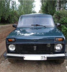 ВАЗ 2121 4x4, внедорожник, 2001 г.в., пробег: 15000 км., механика, 1.7 л