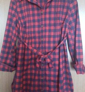 Рубашка-туника для беременных
