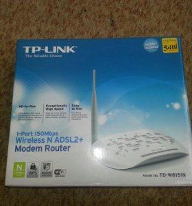 Модем-роутер adsl2+ wi-fi