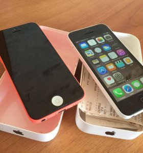 iPhone 5c 32gb (2шт)