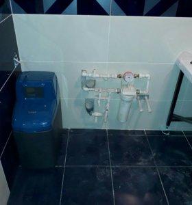 Водопровод, фильтра, счётчики