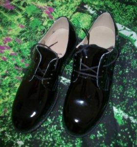 Новые туфли военные