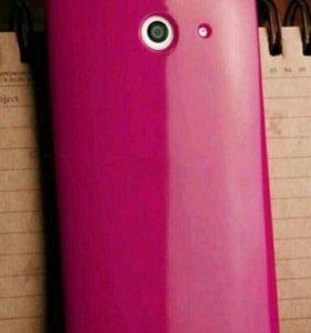 Силиконовый чехол для HTC one E8
