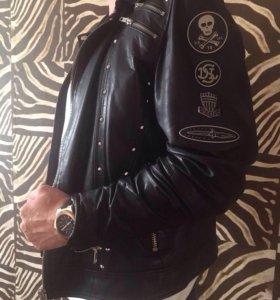 Новая кожаная куртка Diesel