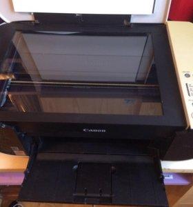 Принтер, ксерокс, сканер - 3 в одном
