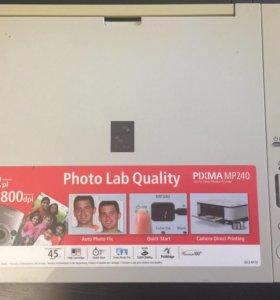 Продам принтер canon pixma mp240