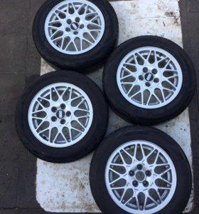 Колеса BBS r15, резина Bridgestone MY-02
