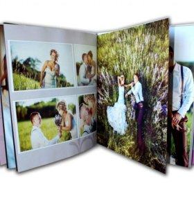 Фото книга на заказ (свадьба,1год жизни и др.)