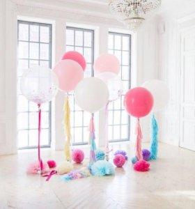 Гигантские шары для фотосессии, любого торжестаа
