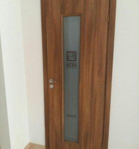 Двери комнатные с коробкой и наличниками