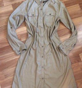 Платье-рубашка р44