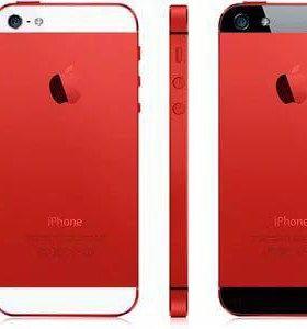 Корпус iPhone 5s красный