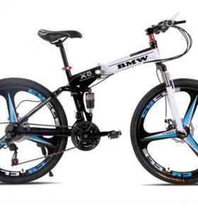 Складной велосипед BMW-X6 black/white