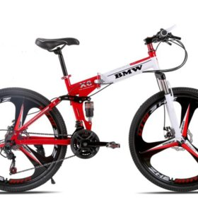 Складной велосипед BMW-X6 red/white