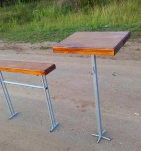 Изготовление оградок, лавочек, столов